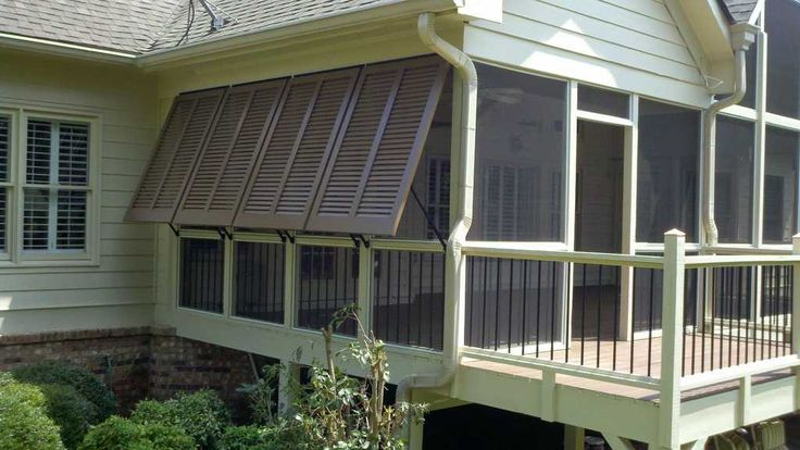 398 best images about cottages ii on pinterest house - Exterior louvered window shutters ...