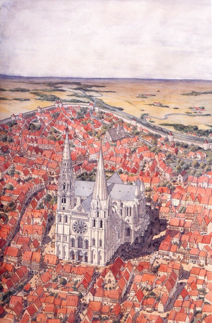 architecture in the middle ages chartres Medieval architecture  the tallest building of any city of the high middle ages was also the one into which the most thought and work was put cathedrals could .