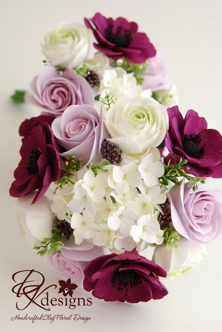 DK Designs: Shabby Chic Inspired Bouquets - Part I