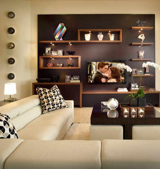 Tremendous 17 Best Ideas About Wall Behind Tv On Pinterest Mounted Tv Inspirational Interior Design Netriciaus