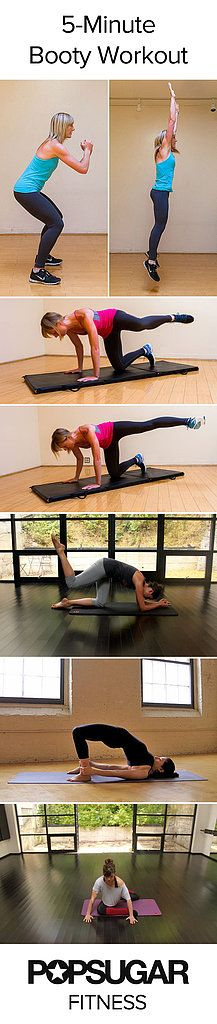 Five-Minute Booty Workout
