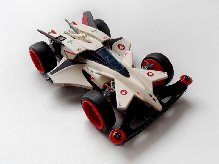 Rayhawk Gamma restored and restyled by Aran (YF-19 version) | Mini 4WD | #Mini4WD | #Tamiya | #Macross | #Robotech | #Valkyrie | #Varitech