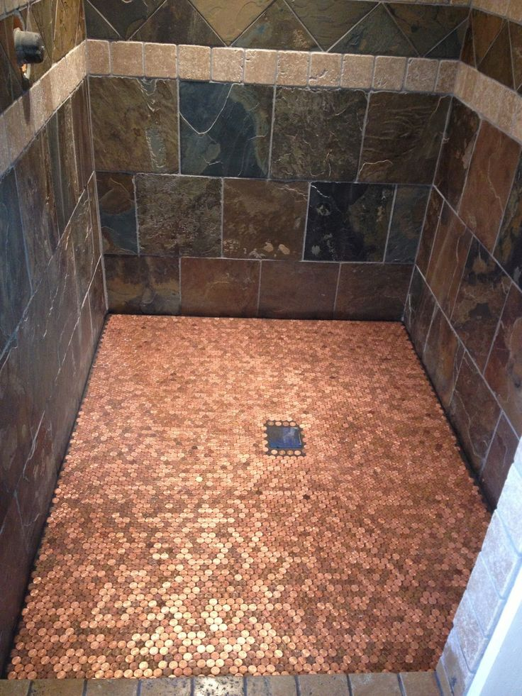 Image Result For 2p Floor Shower Penny Projects In 2019