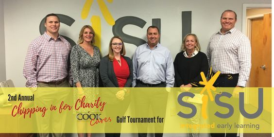 The second annual Chipping in for Charity Golf Tournament raised over $30,000 for local children's charity Sisu on Monday October 2nd. -- Want to know more, click on the image. #GolfSwings