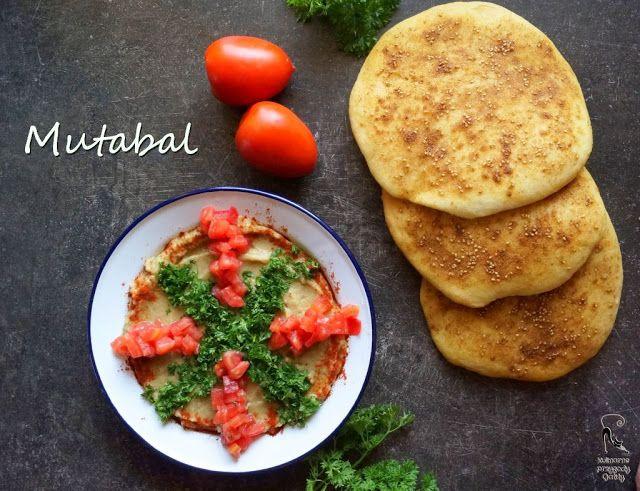 Kulinarne przygody Gatity: Mutabal, pasta z bakłażana