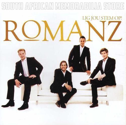 ROMANZ - Lig Jou Stem Op - South African Classical Gospel CD CDSEL0019 *New*