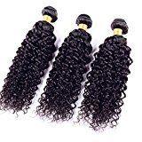 Ruiyu 8A Grade Peruvian Virgin Hair 3 Bundles Human Hair Extensions Water Wave Human Hair Weave Hair Weft Natural Color 12 14 16 Inches Pack of 3