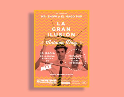 "Check out this @Behance project: ""Antonio Díaz (Mago Pop) 