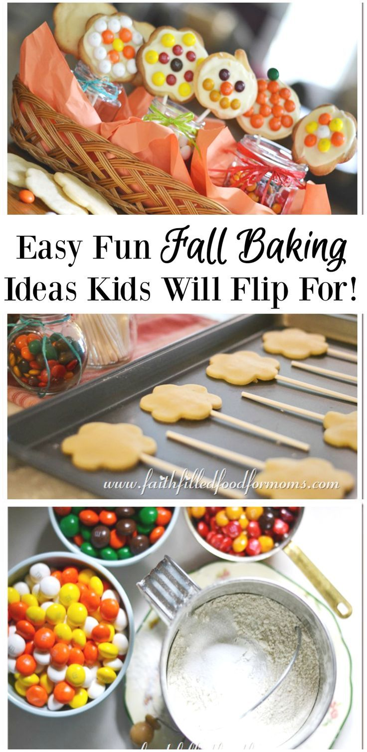 easy fun fall baking ideas kids will flip for | faith filled food