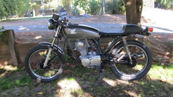 1982 Honda 125s cafe 1000 Motorcycle