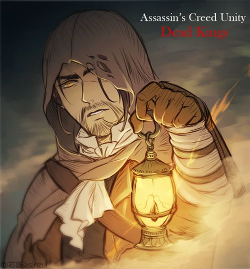 """Fate brought me here for a reason. Perhaps it's time I let go of the past."" Assassin's Creed Unity Dead Kings coming soon~\(*T▽T*)/"