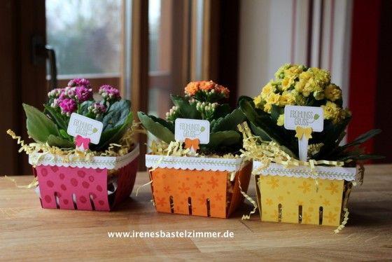 Stampin' Up!-Bigz L Körbchen www.irenesbastelzimmer.de