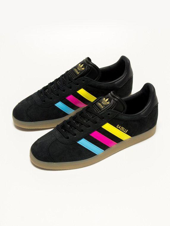 adidas Gazelle Colour Stripe   Me Stuff cf25e1570a
