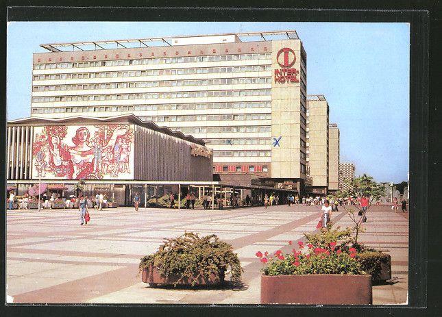 Interhotel, Pragerstrasse, Dresden