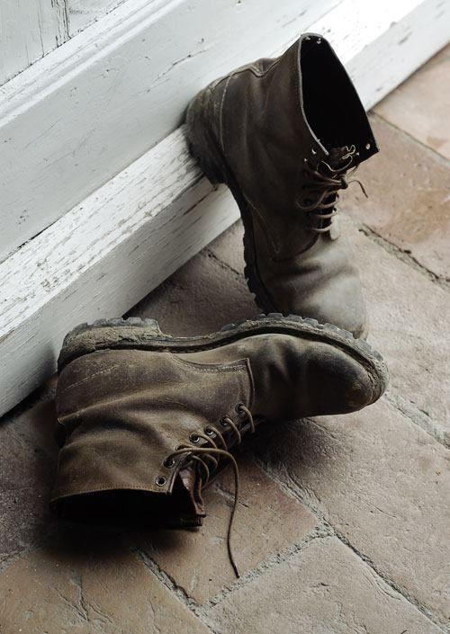 Fattoria Barbialla Nuova, appropriate boots, muddy boots