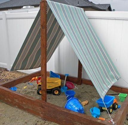 25 DIY Summertime Sandboxes