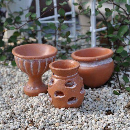 Amazon.com: Miniature Fairy Garden Garden Pot Picks, Garden Urn: Patio, Lawn & Garden