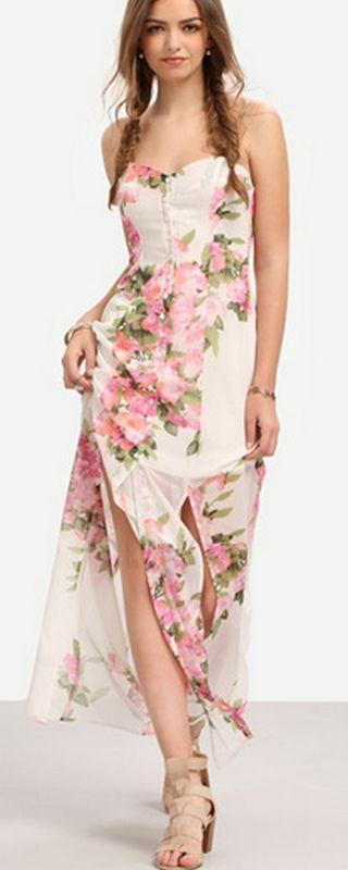 50+ Nice and Trendy Maxi Dresses Summer Beach http://www.ysedusky.com/2017/03/30/50-nice-and-trendy-maxi-dresses-summer-beach/