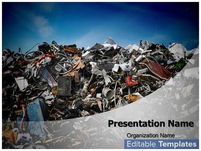 15 best powerpoints images on pinterest environment colours and solid waste disposal design template this solid waste disposal ppt template can be associated with toneelgroepblik Image collections