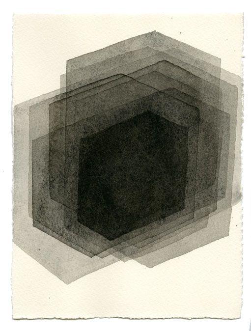 ROOM VI, 2014 drawning by Antony Gormley