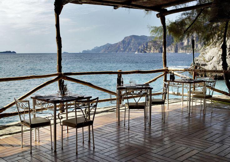 Carlino restaurant at Il San Pietro - Positano, Italy (Amalfi Coast) #hotel #luxurytravel #travel