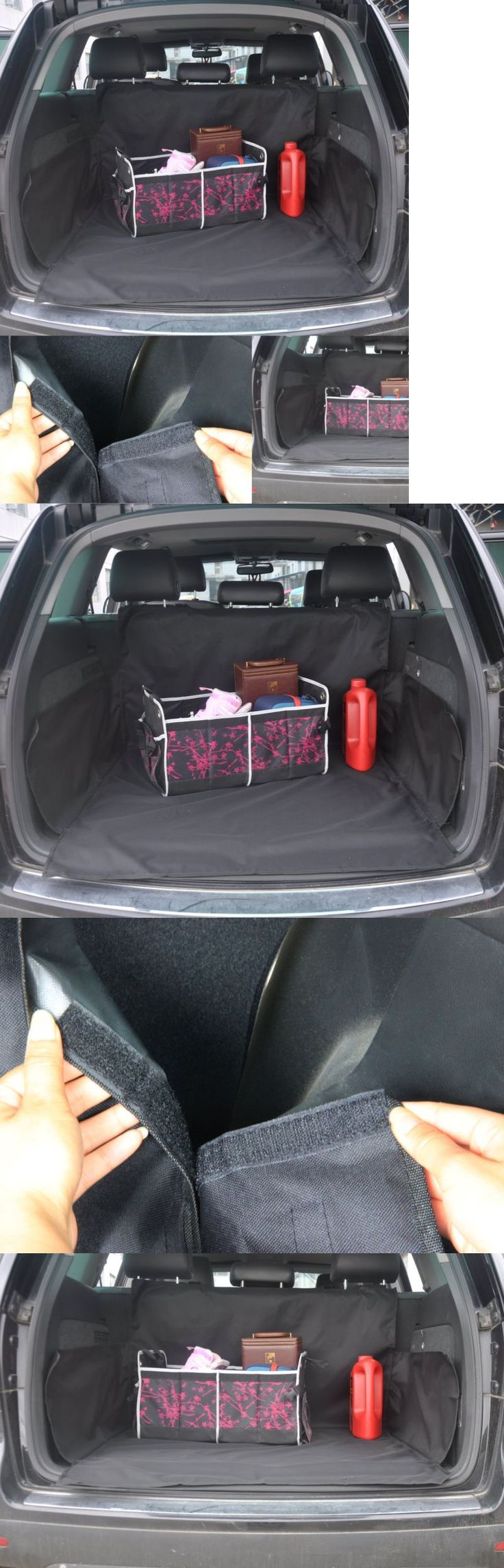 Car Seat Covers 117426: Black Oxford Pet Car Suv Van Back Trunk Cargo Bed Liner Cover Waterproof For Dog -> BUY IT NOW ONLY: $31.84 on eBay!