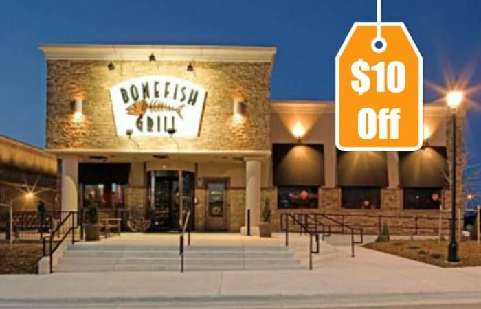 There is an awesome new Bonefish Grill Coupon available. The coupon is for $10.00 off your dine-in dinner after 4pm and is good through 11/15/15
