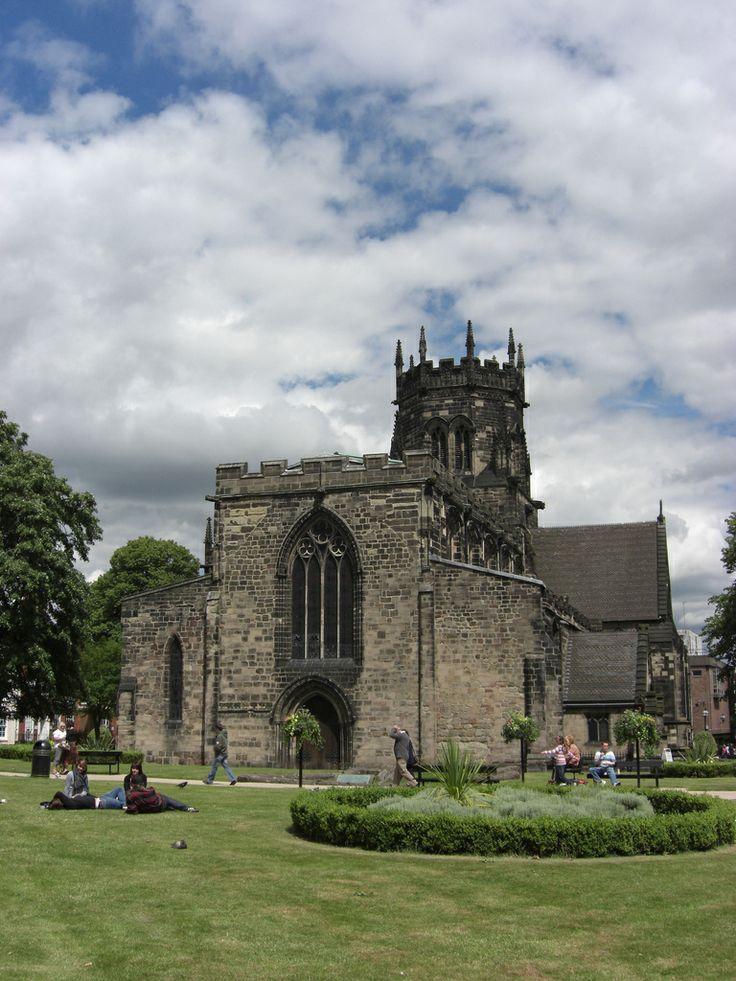 ˚St Mary's Church - Stafford
