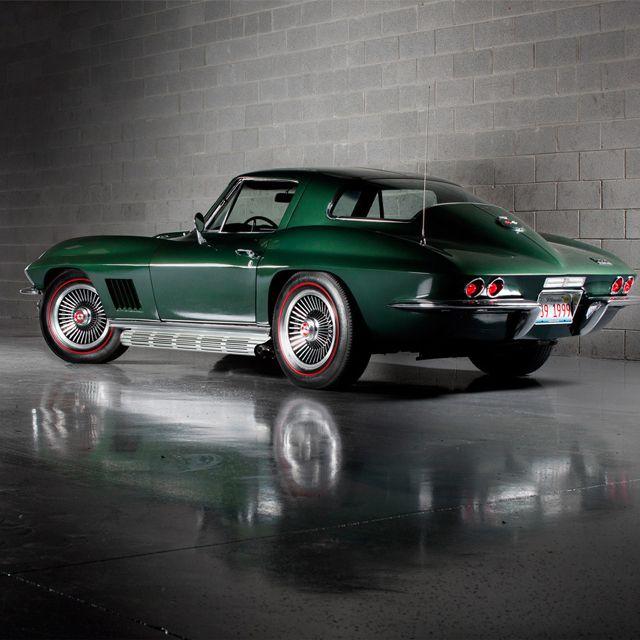 1967 Corvette with redline tires