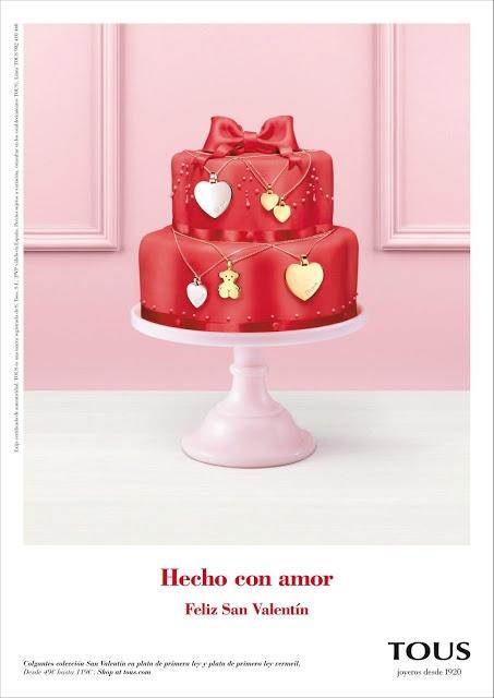 Pastel Tous San Valentin by Cakes Haute Couture Patricia Arribálzaga