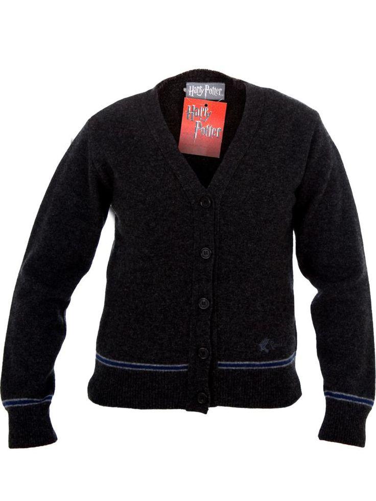 OFFICIAL WARNER BROS. HARRY POTTER RAVENCLAW CARDIGAN : Licensed Sweaters : Lochaven International Ltd