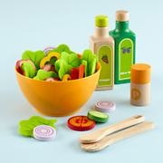 Kids Play Salad - one of the best toys we ever bought - lots of safe pieces, different textures, healthy message and great all around for 2+ year olds