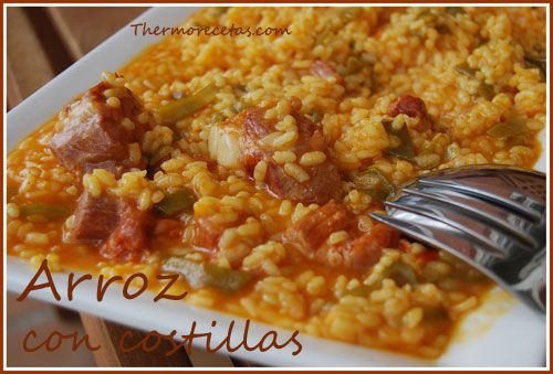 arroz con costilla con la Thermomix. #arroz #recetas #thermomix