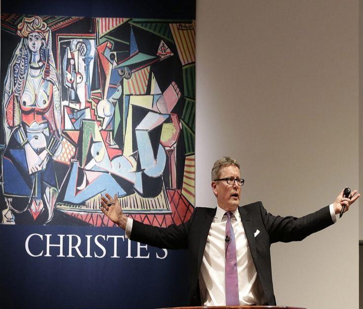 Tak się zarabia na sztuce. Przez trzy dni przez dom aukcyjny Christie's przeszło 1,4 mld dolarów. http://tvn24bis.pl/ze-swiata,75/rekordowe-obroty-domu-aukcyjnego-christie-s,542455.html