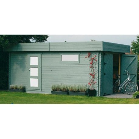 Garage bois 20m²