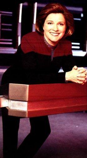 Kate Mulgrew/ Captain Kathryn Janeway