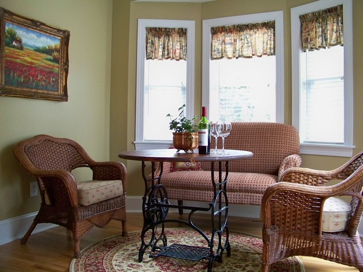 The Comforts of Home  The Kitchen Lounge Area     table with sewing machine. 31 best Recycled Sewing Machine Tables images on Pinterest