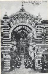 De eerste Haagsche Passage aan de Lange Poten (1910) Haags Gemeentearchief 0.42898
