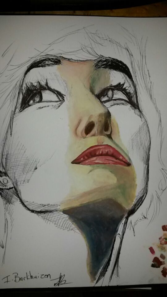 Ilandi Barkhuizen. original art, mixed media, 2014, Natasha Negovanlis