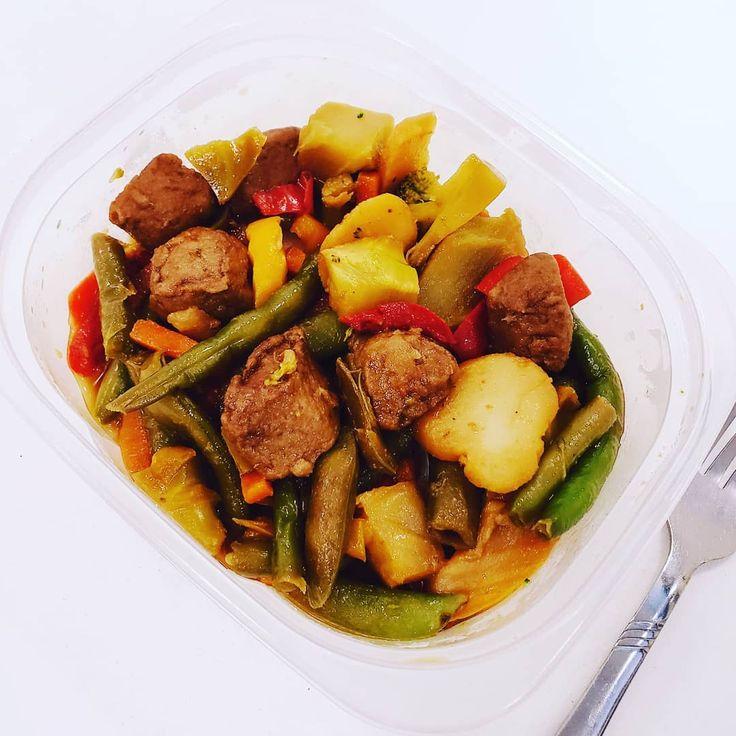 Lunch!! 🥦🌶🍴 Very yum!! 😛😋🤤 #Lunch #Diet #6WeekMealPlan #MealPr…
