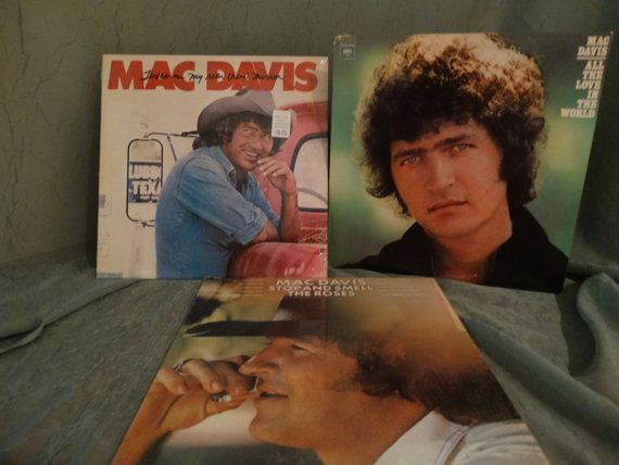 Sale Mac Davis  All The Love In The World Stop And by DorenesXXOO