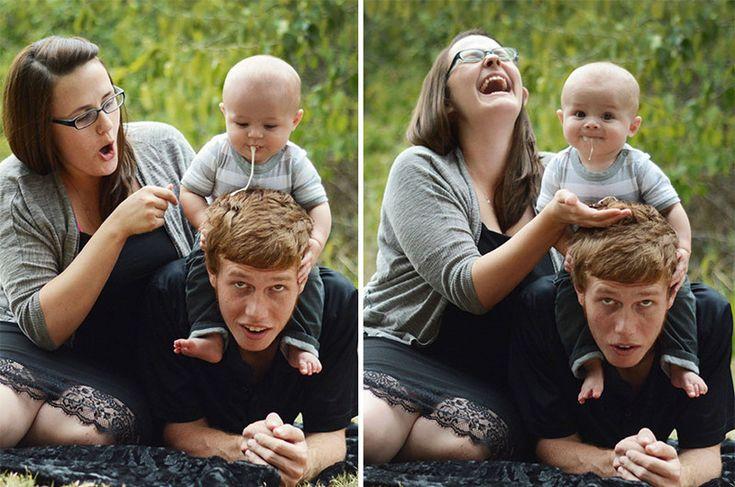 Смешные фото с детьми и родителями, детской открытки
