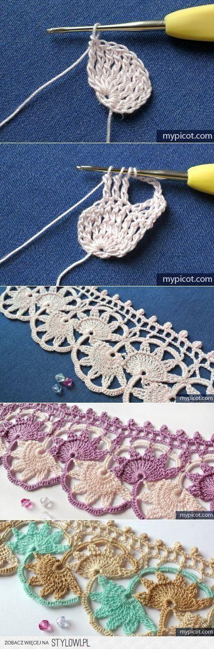 MyPicot   Free crochet patterns   Вязание   Постила