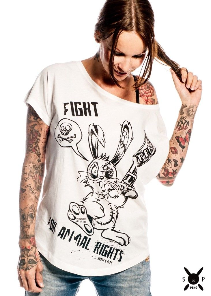 Tierschutz Statement Fashion - Sandy P.Peng Shop
