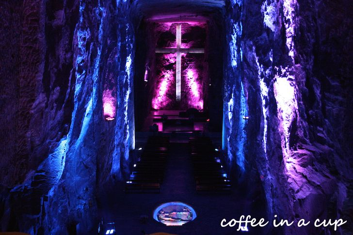 the salt cathedral of zipaquirá