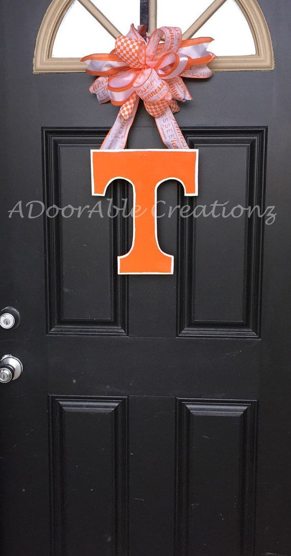 Tennessee Volunteer Door Hanger Vols Door Hanger Tennessee