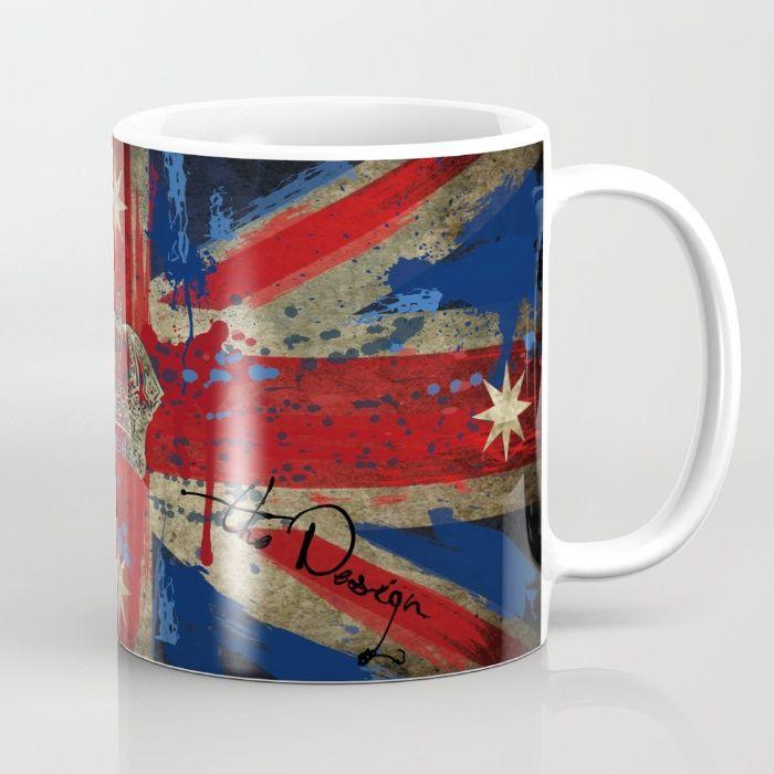 Union Jack & Eureka Flag Mug