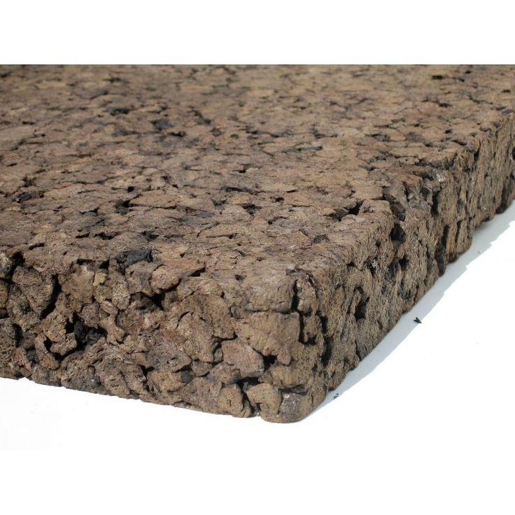 EN 40 mm plaque de 100*50 vendu pour 8m2 de cloison à 109,34€ soit 13,67€/m2 kenzai Liège expansé en panneaux pour isolation écologique et saine.