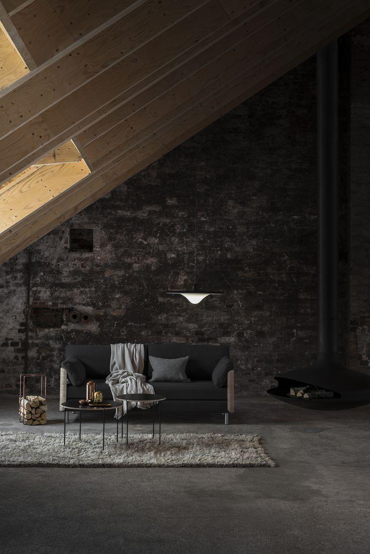 Tapio Anttila Collection – ON sofa bed, TREK pendant light, Mixrack tables, Mixrack rack