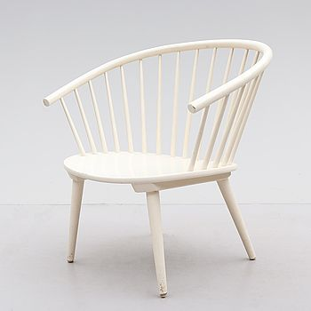 "KARMSTOL, ""Eker"", Gillis Ljunggren, IKEA, 1960-tal."